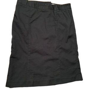 Whit house Black Market- Women's black skirt
